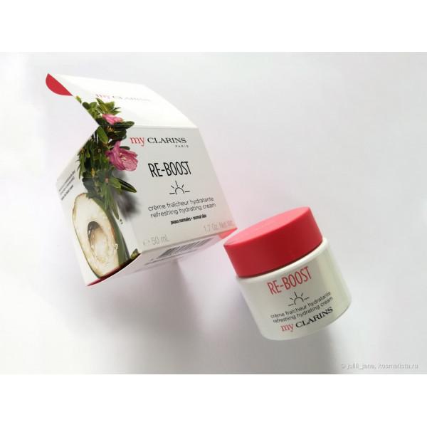 My Clarins Re-boost refreshing hydrating cream Тонизирующий крем