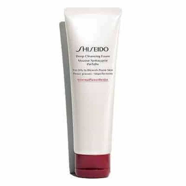Shiseido Deep Cleansing Foam Очищающая пенка с кремовой текстурой