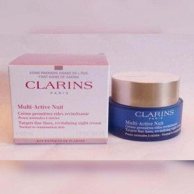Clarins Multi-Active Nuit Ночной крем для нормальной и комбинированной кожи