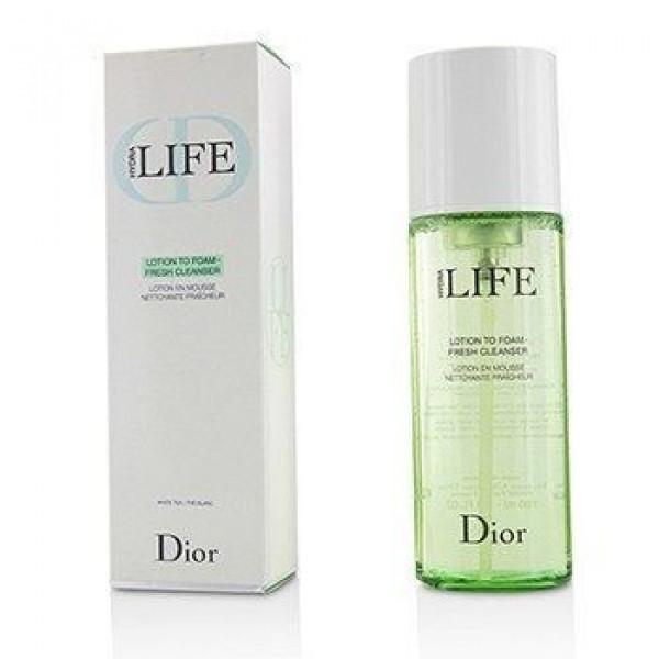 Christian Dior Hydra Life Lotion to Foam Fresh Cleanser Лосьон-пенка для лица