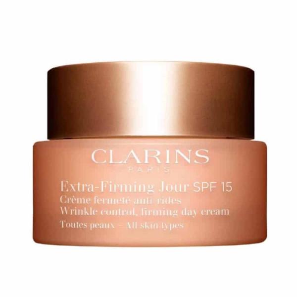 Clarins Extra-Firming Регенерирующий дневной крем против морщин для любого типа кожи SPF 15