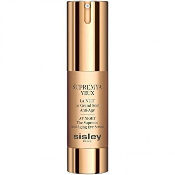 Sisley Supremÿa Yeux at Night, антивозрастная ночная крем-сыворотка для кожи вокруг глаз