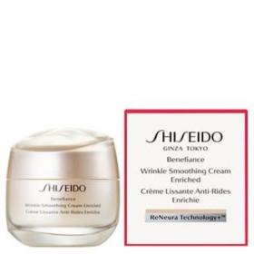 Shiseido Benefiance Wrinkle Smoothing Enriched Cream Питательный крем для лица